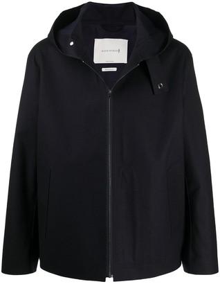 MACKINTOSH Eddleston raw edge bonded jacket