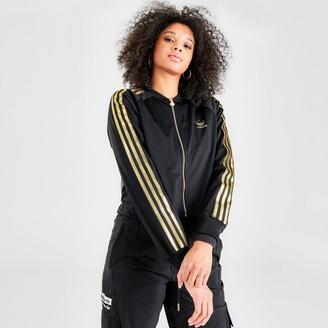adidas Women's 3-Stripes Track Jacket