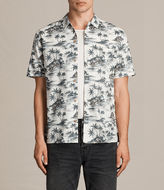 AllSaints Marooned Short Sleeve Shirt