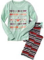 Old Navy Graphic Sleep Set for Girls
