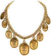 One Kings Lane Vintage Chanel Multi-Coin Choker Necklace