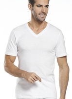 Jockey Mens Big Man Classic V-Neck 2 Pack T-Shirts Shirts 100% cotton