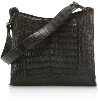 Nancy Gonzalez Medium Marly Crocodile Hobo Bag