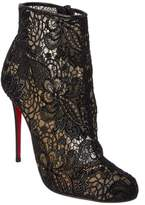 Christian Louboutin Miss Tennis 100 Lace Bootie.