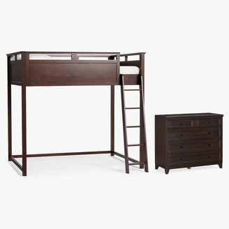 Pottery Barn Teen Hampton Loft Bed & 5-Drawer Dresser Set