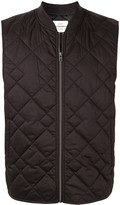 Kent & Curwen zip-up padded gilet