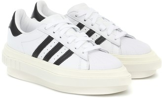 adidas Beyonce Superstar leather platform sneakers