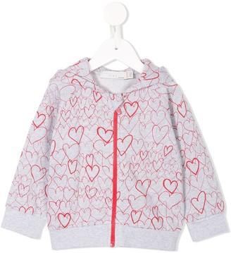 Stella McCartney Heart Print Hoodie