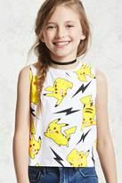 Forever 21 FOREVER 21+ Girls Pikachu Tank Top (Kids)