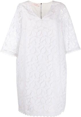 A.N.G.E.L.O. Vintage Cult 1990s V-neck shift dress