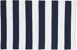 Dash & Albert Catamaran Indoor/Outdoor Rug - Navy/White 5'x8'