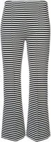 Sonia Rykiel cropped stripe trousers - women - Cotton/Polyester - XS