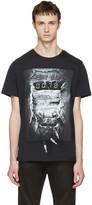 Diesel Black T-Joe-OA 'Party Time' T-Shirt