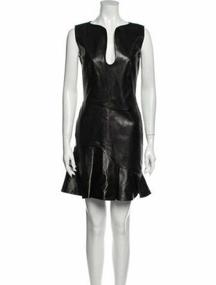Alexander McQueen 2013 Mini Dress Black