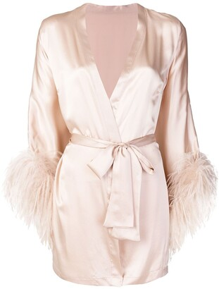 Gilda and Pearl Mia wrap robe
