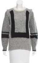 Toga Wool & Alpaca-Blend Patterned Sweater