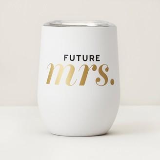 Indigo Future Mrs Insulated Wine Glass