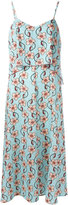 I'M Isola Marras floral print dress - women - Polyester/Spandex/Elastane - 38