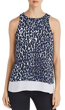 Le Gali Alyssa Sleeveless Layered Animal-Print Top - 100% Exclusive