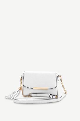 Ardene Faux Leather Crossbody Bag with Tassel