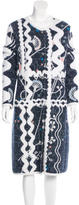 Peter Pilotto Patterned Long Coat