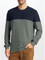 John Lewis Colour Block Knit Jumper