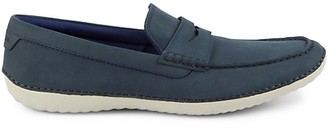 Cole Haan MotoGrand Suede Penny Driving Shoes