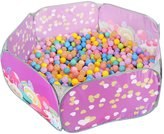 Sugar Q SPT003 Kids Ball Pit Pool Play Tent Pop Up Toddler Playpen with 25 Plastic Balls