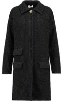 Sonia Rykiel Ribbed Wool-Blend Coat
