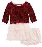 Frais Infant Girl's Velvet & Tulle Dress