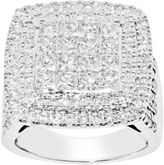 JCPenney FINE JEWELRY 3 CT. T.W. Princess Diamond Engagement Ring