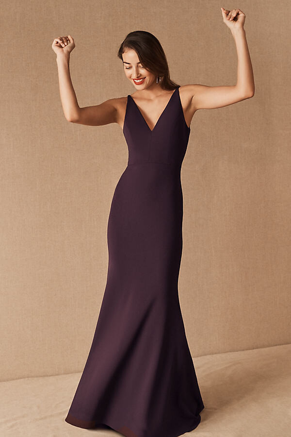 Thumbnail for your product : BHLDN Jones Dress By in Purple Size Us 26/uk 30