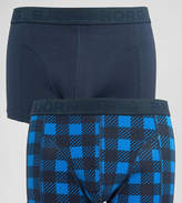 Bjorn Borg 2 Pack Trunks in Check