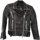 AllSaints Anthracite Leather Jacket for Women
