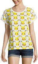 Mighty Fine Pokemon Graphic T-Shirt- Juniors