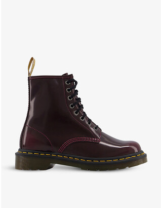 Dr. Martens 1460 8-Eye Faux Leather Boots