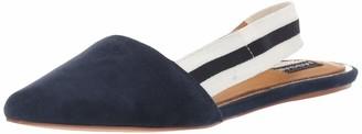 Jaggar Women's Action Sling Back Suede Flat Fashion Shoe Shoe