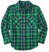 Ralph Lauren Boys 2-7 Plaid Patterned Workshirt