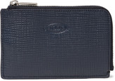 Tod's - Zip-around Cross-grain Leather Wallet