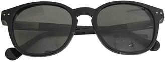 Moncler Black Plastic Sunglasses