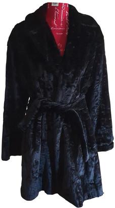 Marella Black Faux fur Coats