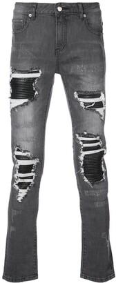 God's Masterful Children Distressed Skinny Jeans
