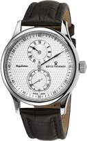 Revue Thommen 16065-2532 Men's Regulator Wrist Watch, Dial with Brown Band