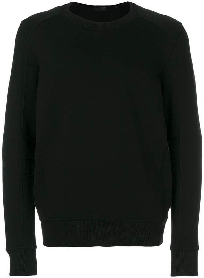 Belstaff logo patch sweatshirt
