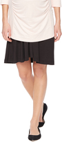 Motherhood Fold Over Belly Relaxed Fit Maternity Skirt