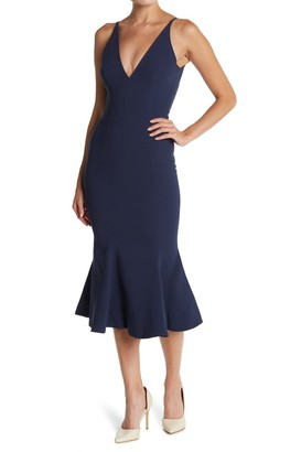 Dress the Population Isabelle Crepe Mermaid Dress