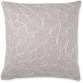"Yves Delorme Vegetal Embroidered Decorative Pillow, 18"" x 18"""