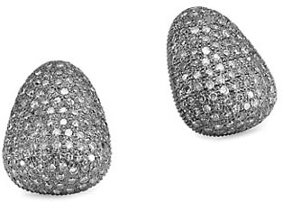 Nina Gilin Diamond Stud Earrings