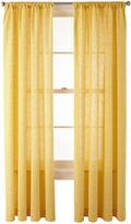 Martha Stewart MarthaWindowTM Covington Square Rod-Pocket Cotton Curtain Panel