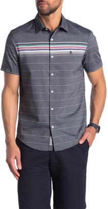 Original Penguin Stripe Print Regular Fit Shirt